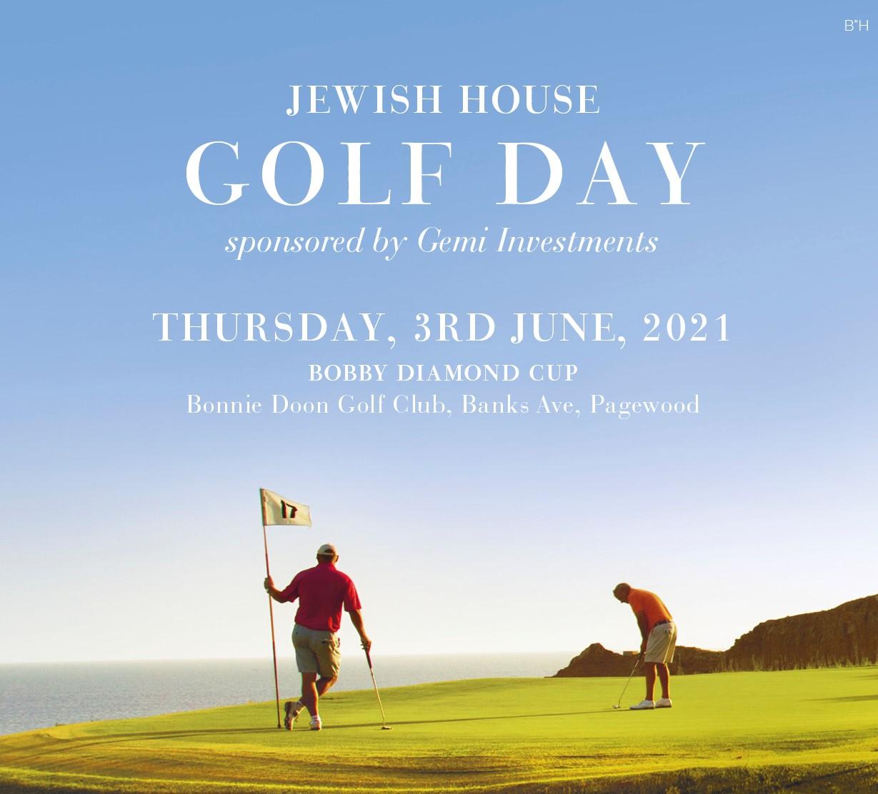 Jewish House Annual Golf Day 2021
