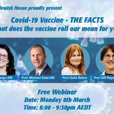 Jewish Community Immunisation Webinar